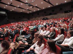 widownia, kino, sala kinowa, ludzie, woes, oskard, Konin