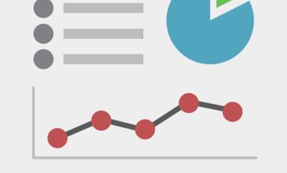 Grafika przedstawia wykresy (liniowy, kołowy, słupkowy) bez oznaczeń liczbowych. Grafika wykonana w jasnych kolorach.